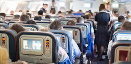 Awantura w samolocie. Pasażer nie chciał usiąść obok kobiety