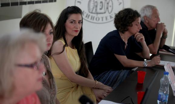 Zorica Stablović Bulajić, Vesna Perić, Maja Vasiljević, Vesna Mikić i Zoran Hristić