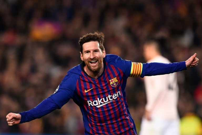 Lionel Messi scored twice as Barcelona beat Manchester United 3-0