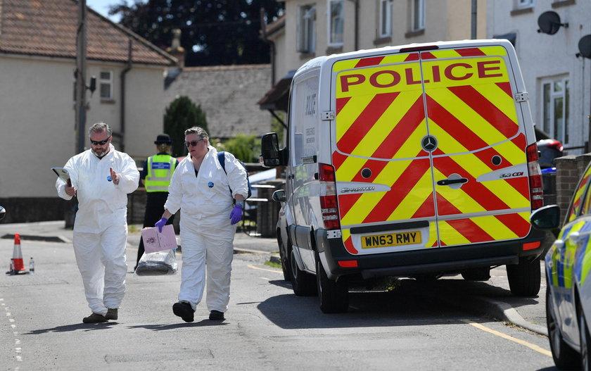 Polak Marcin Z. stanął przed sądem za zabójstwo żony i córki w Salisbury