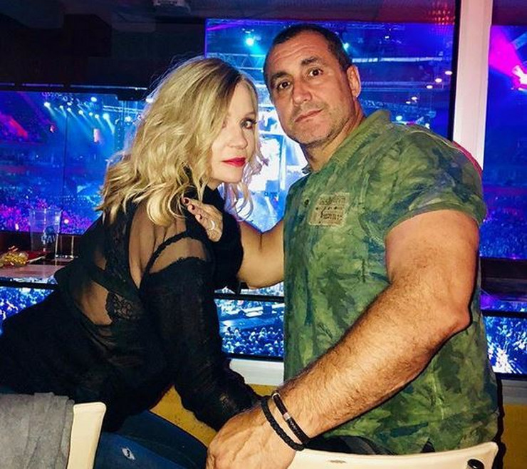 Tanja Rađenović i muž 1