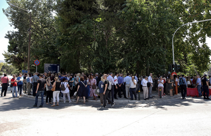 Grčka zemljotres epa  SIMELA PANTZARTZI