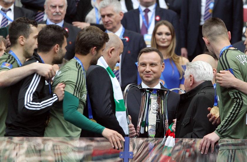 Prezydent Polski wypowiedział się na temat finału Puchar Polski