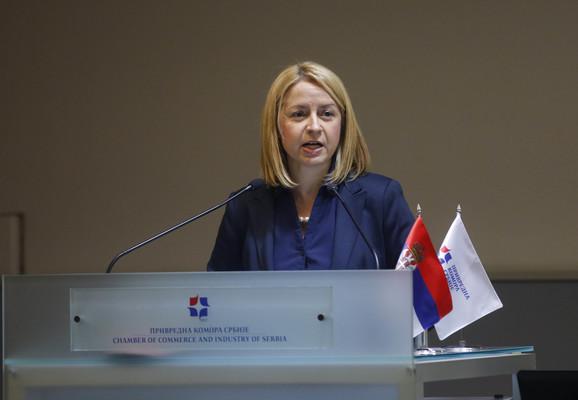 Mirjana Kovačević, Privredna komora Srbije