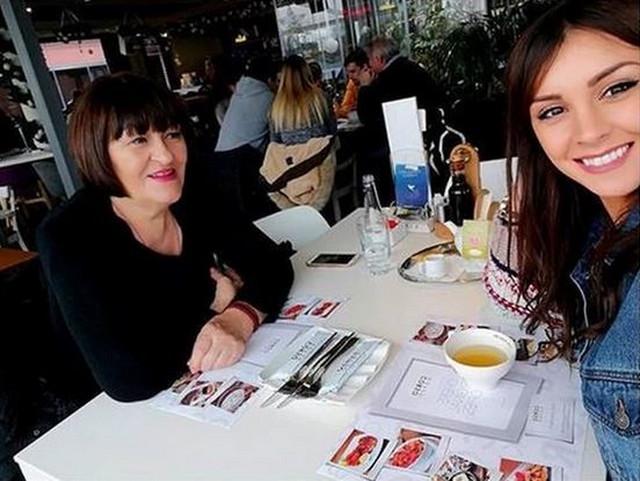 Dragana Mićalović sa mamom