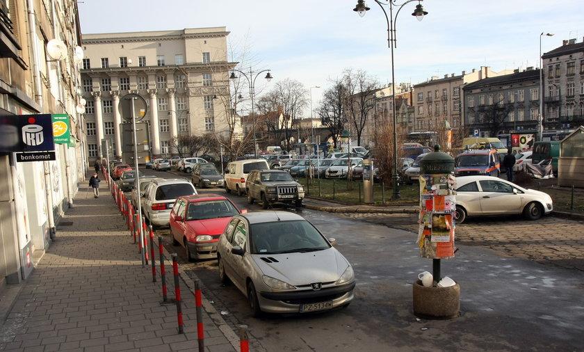 Tu będą nowe parkingi.