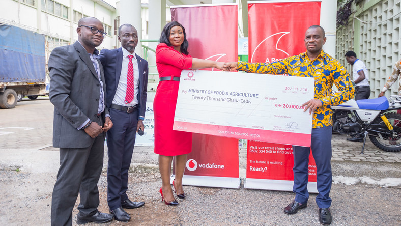 Vodafone donates towards Farmer's Day