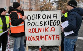 'Oblężenie Warszawy'. Rolnicy rozpoczęli protest