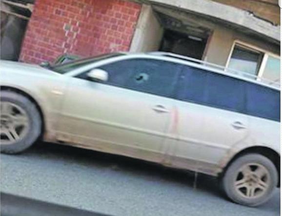 Automobil kojim je  upravljao Skarep