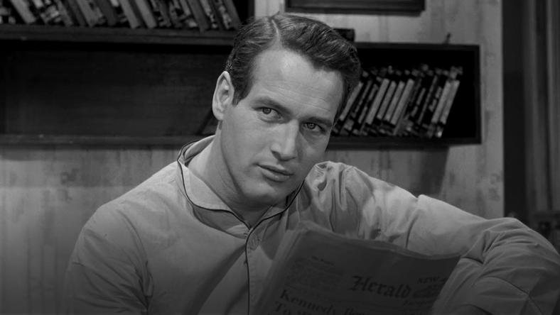 Paul Newman w filmie Paryski blues (1961)