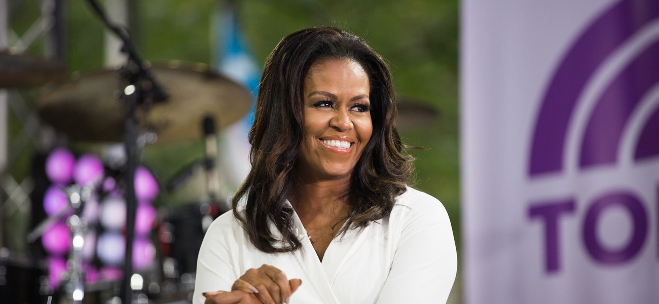 Michelle Obama fot. GettyImages- NBC / Contributor