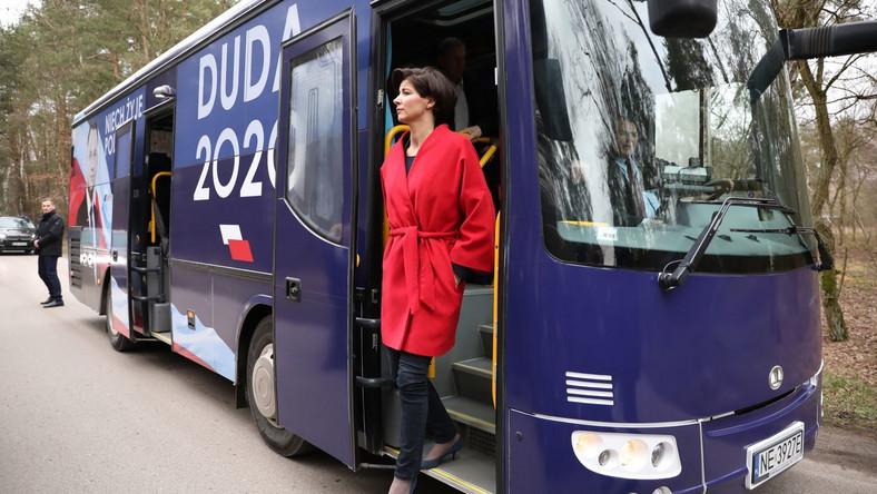 Szefowa kampanii Andrzeja Dudy