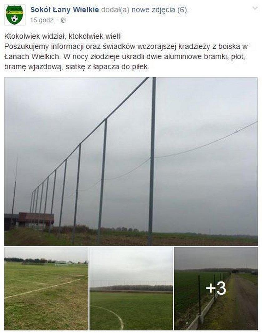 Skandal w polskiej lidze. Ktoś ukradł bramki