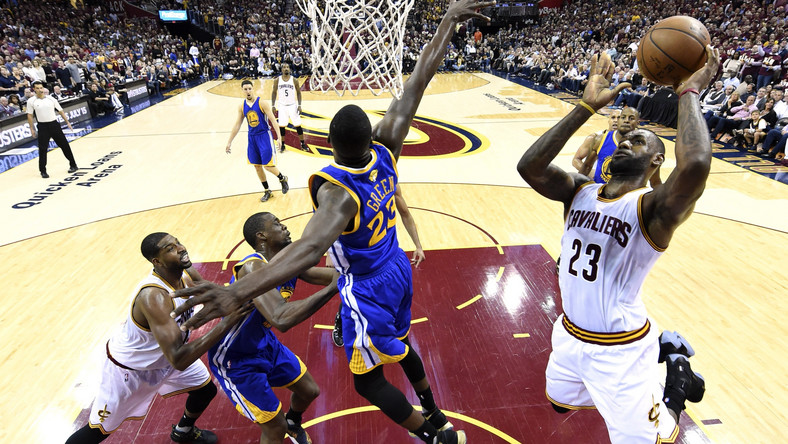 LeBron James i Draymond Green