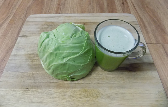 Cabbage juice for ulcers(Raw Juice Cleanse Recipes)