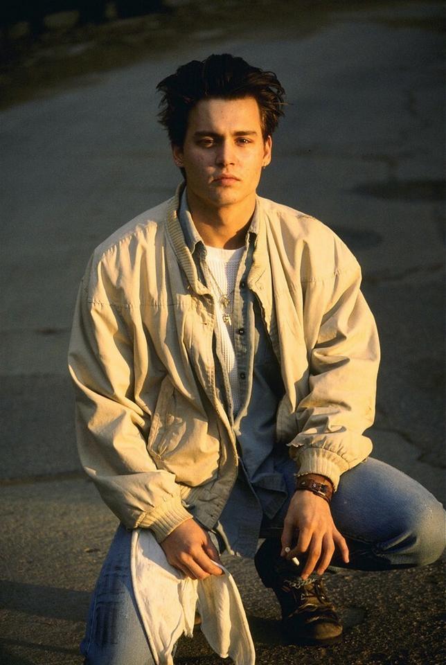 Johnny Depp w 1989 r.