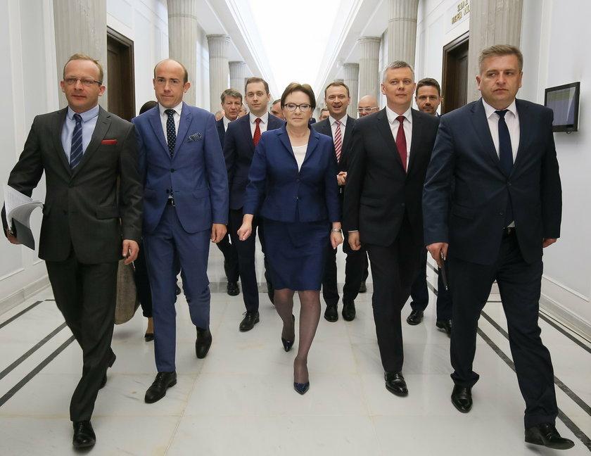 Politycy Platformy w Sejmie