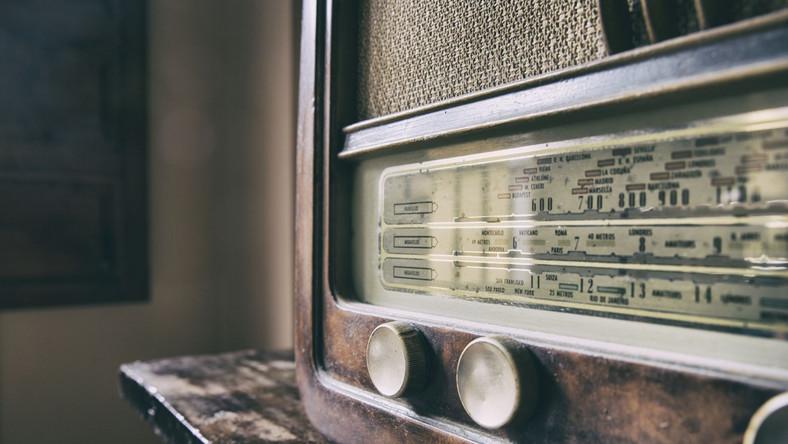 Radio zabytek antyk stare radio