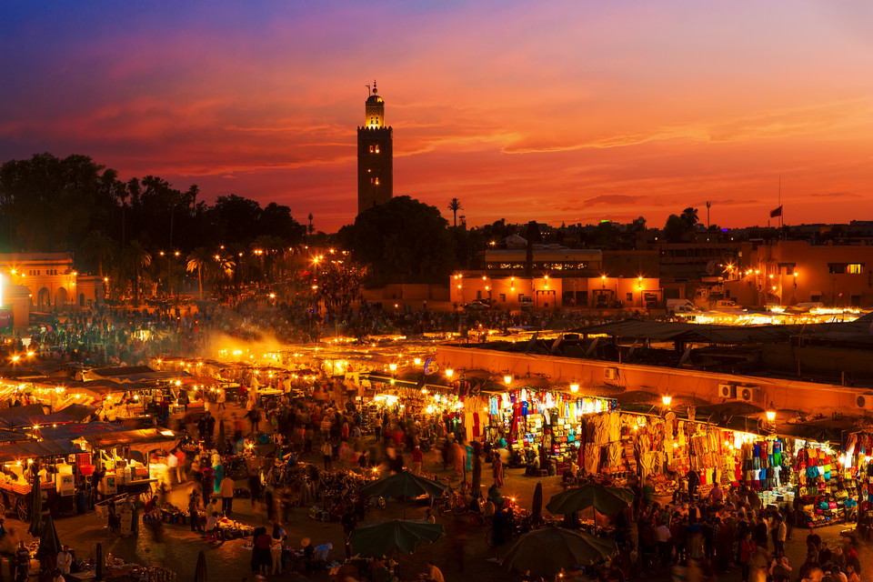 4. Marrakesz, Maroko