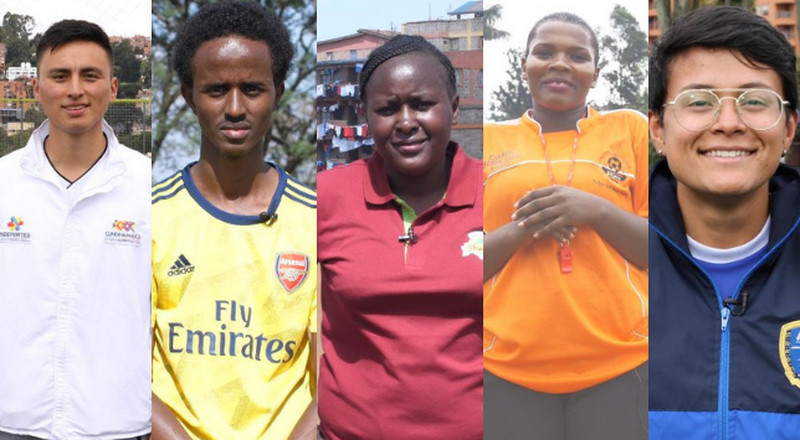 "Chinasa from Nigeria and Luis Alejandro Castañeda from Colombia win the WorldRemit and Arsenal ""Future Stars"" coaching programme"