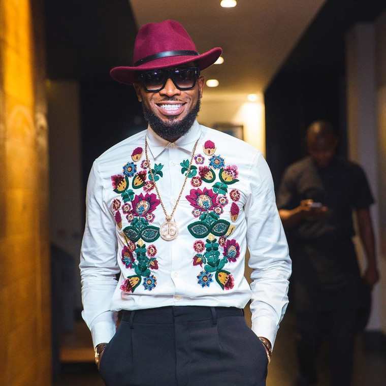 His fame might have waned in the last years of the 2010s, but D'Banj was undoubtedly the star of the Nigerian music industry in the early years of the decade.  [Instagram/IamBangaLee]