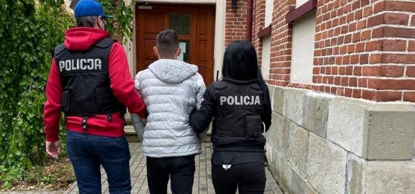 19-latek uwodził innych mężczyzn, żeby ich potem szantażować
