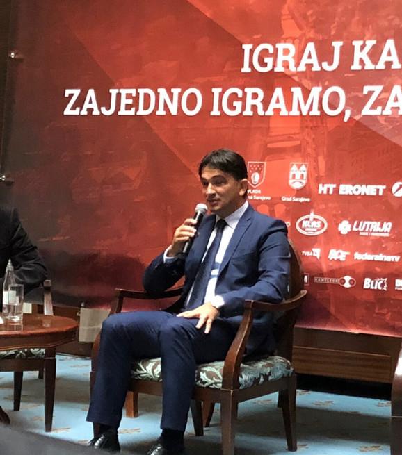 Zlatko Dalić na sedmom Internacionalnom sportskom simpozijumu u Sarajevu