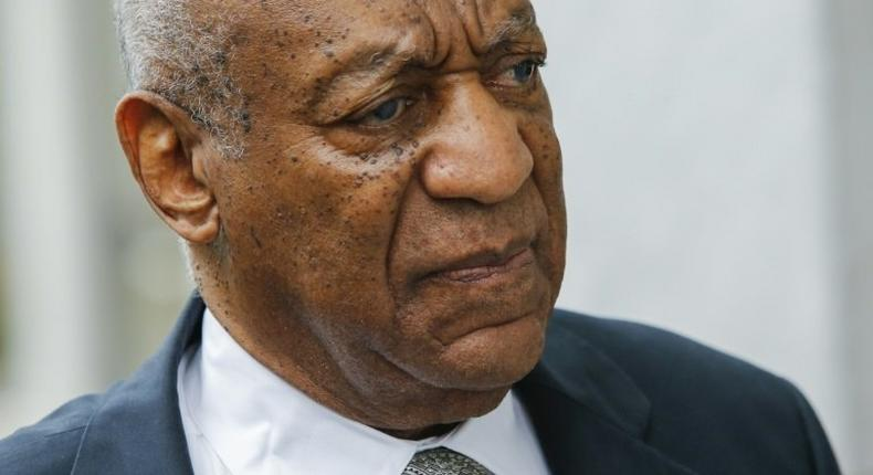 Bill Cosby arrives at the Montgomery County Courthouse in Norristown, Pennsylvania, on June 17, 2017