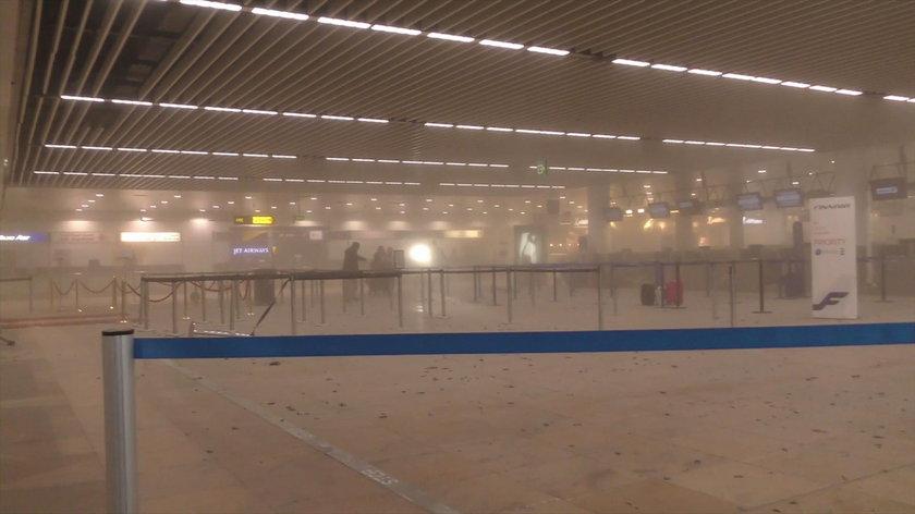 Bruksela: zamach na lotnisku Zaventem Airport