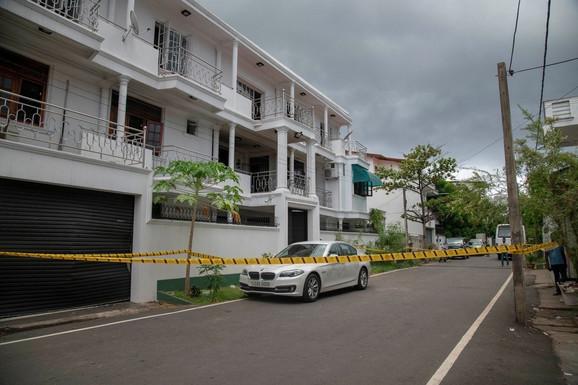 Luksuzna kuća u Kolombu u kojoj su živeli Inšaf i Ilham Ibrahim