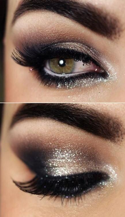 Makijaż Sylwestrowy Oczu Dla Blondynek I Brunetek Galeria Zdjęć