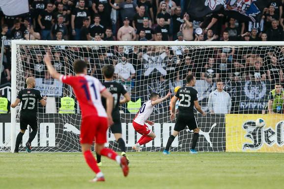 Detalj sa meča Vojvodina - Partizan u finalu Kupa Srbije