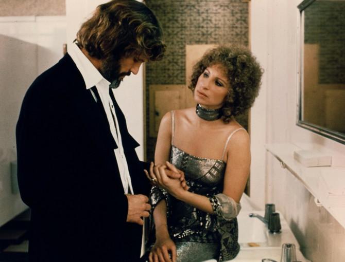 Barbara Strejsned u filmu A Star is Born