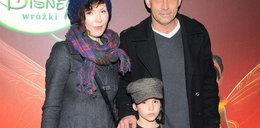 Stelmaszyk z córką w kinie