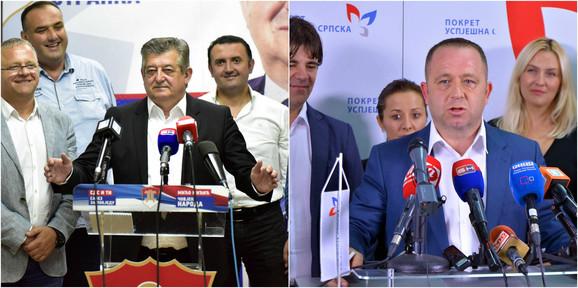 Dojučerašnje stranačke kolege, sada ljuti protivnici: Mićić i Maksimović