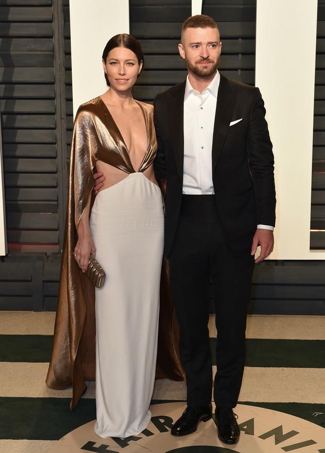 Džesika Bil sa suprugom Džastinom Timberlejkom