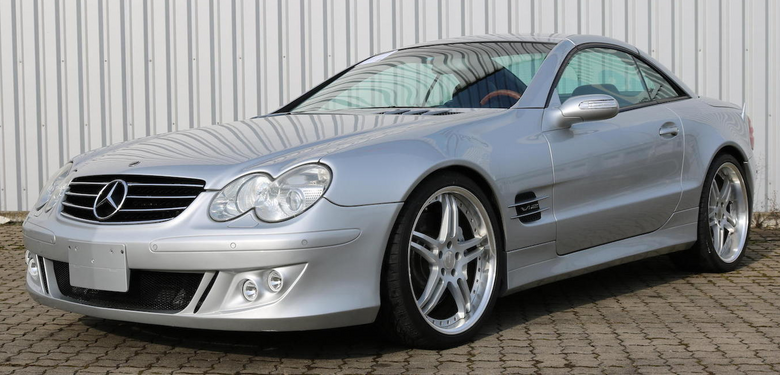 Mercedes SL 600 V12 Biturbo Brabus z 2004 r.