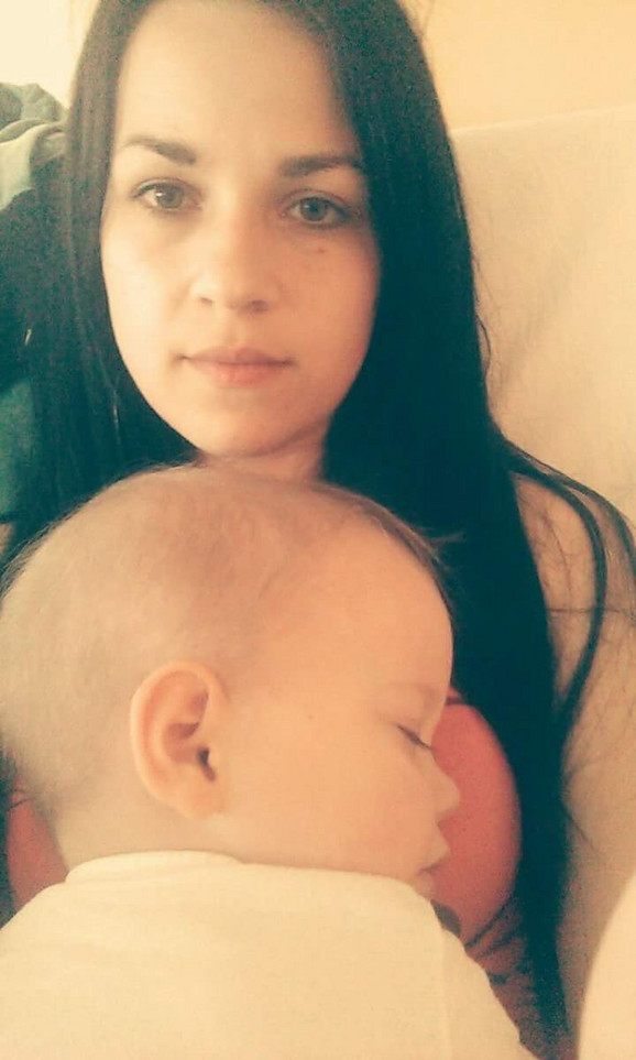 Nađa i njena mama Dragana