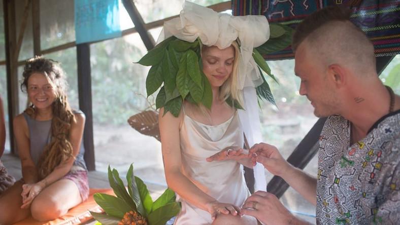 Margaret i Kacezet podczas szamańskiej ceremonii zaślubin / fot. Psychonauta Foundation