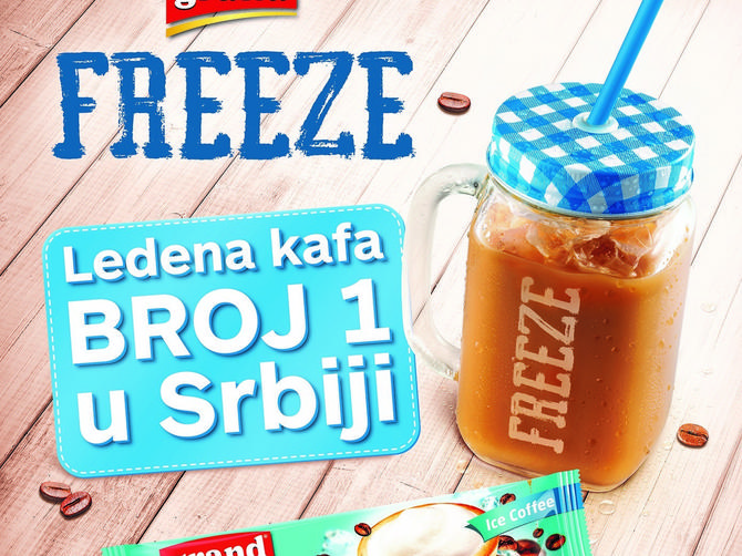 Leto uz najbolju ledenu kafu – Grand Freeze
