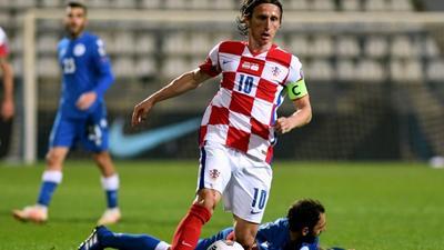 Veteran Modric to lead Croatia at Euro 2020
