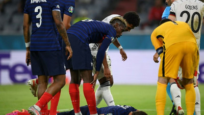 FIFPro asks UEFA why Pavard played on after being 'knocked out'