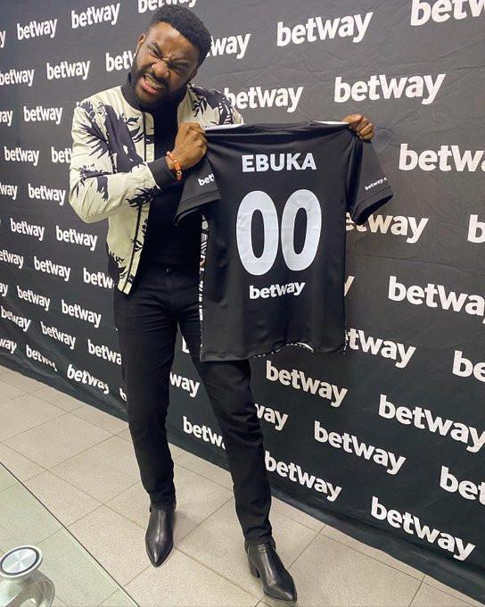 Ebuka Obi-Uchendu; Media Personality and BBNaija Host during the Betway BBNaija Ambassador's signing ceremony yesterday.
