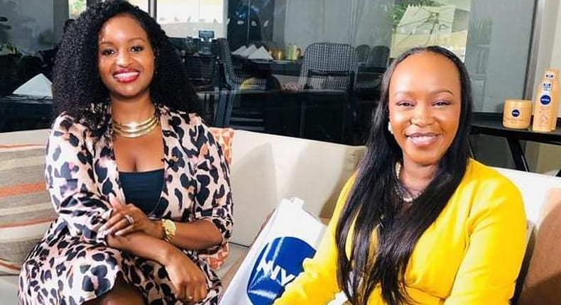 Terryanne Chebet with Grace Msalame. Terryanne Chebet talks about her experience after being fired from Citizen