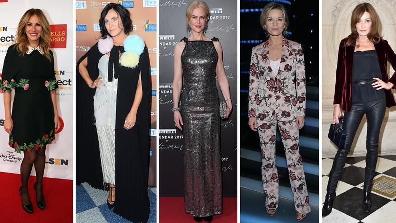 One w tym roku skończą 50 lat: Julia Roberts, Kayah, Nicole Kidman, Małgorzata Foremniak i Carla Bruni
