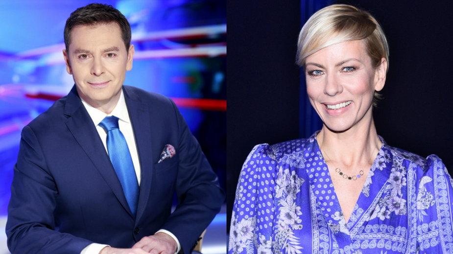 Michał Adamczyk (AKPA, fot. Gałązka) i Anita Werner