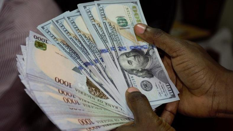Nigerian Naira And Us Dollar