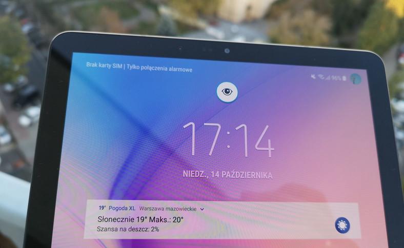 Samsung Galaxy Tab S4 - odblokowywanie