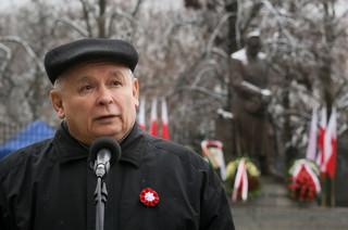 Kaczyński: W Polsce wolność jest ciągle słaba, podnoszona jest na nią ręka