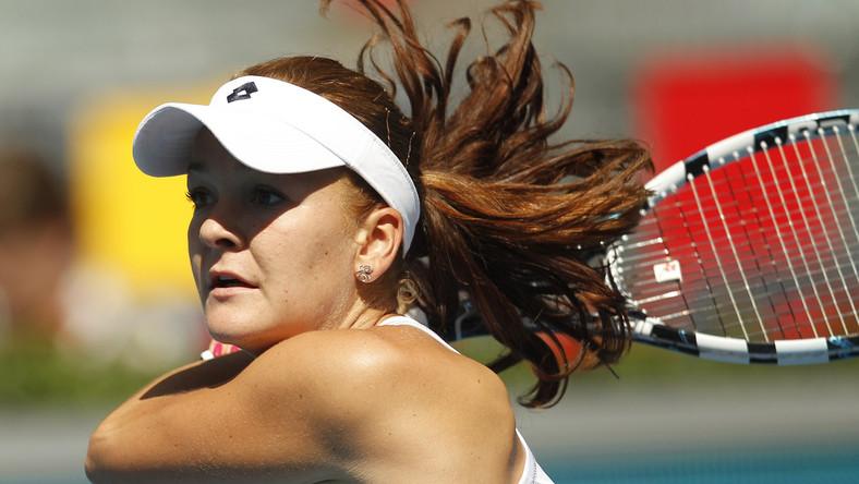 Agnieszka Radwańska w półfinale turnieju w Brukseli